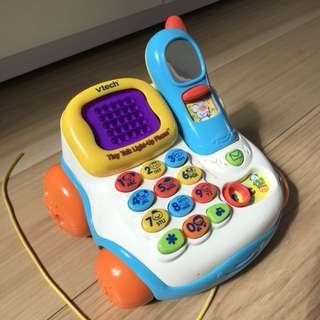 Tiny Talk Light Up Phone 拖拉聲光錄音電話