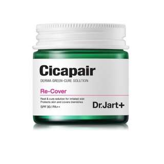 Brand New Dr Jart+ Cicapair Derma Green-Cure Solution Re-Cover Cream