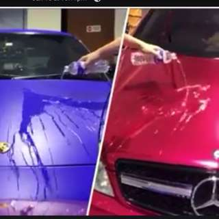 Glass coating for Sticker wrap Car