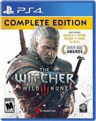 Witcher 3 complete edition ps4