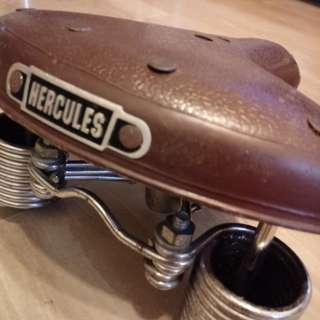 Vintage bicycle saddle for HERCULES