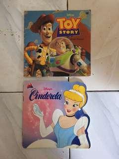 Buku Cerita Bergambar Disney