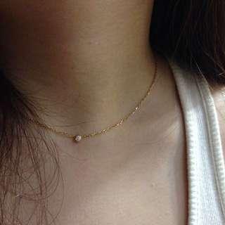 Cartier DIAMANTS LÉGERS 10分 單鑽 項鍊