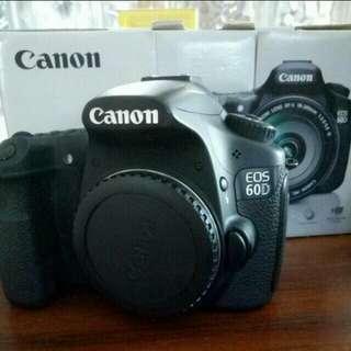Canon 60D Under utilised