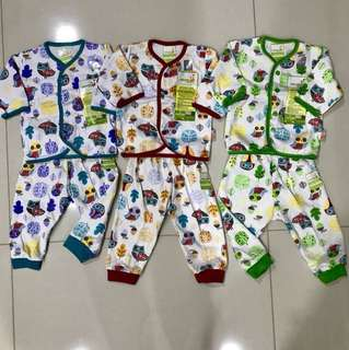 Newborn Baby's Long Sleeve and Pants