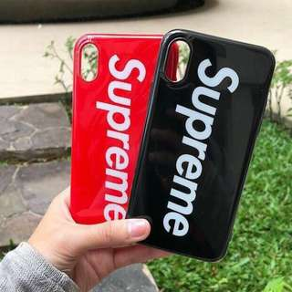Supreme Case for iPhone 6 6+ 7 7+ 8 8+ X
