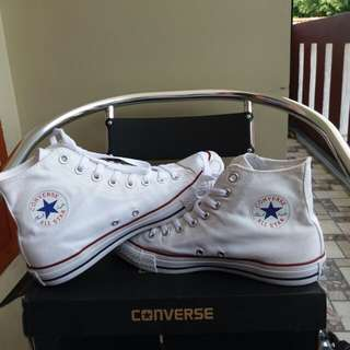 Converse Hi Full White