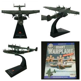 Diecast model Military aircraft plane for souvenir or hobby or education: Dornier Do 24 flying boat