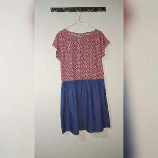 Free Ongkir NEVADA Casual Dress Pink XXL Bigisize