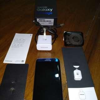 Samsung Galaxy S7 Edge blue