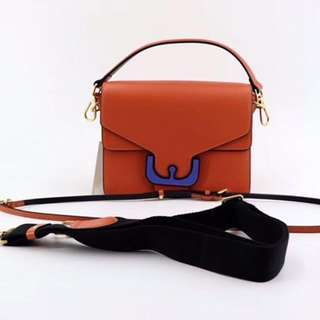Coccinelle Ambrine Leather Bag