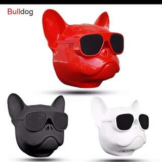 Preorder Bulldog Bluetooth Speaker Outdoor Portable HIFI Bass Speaker