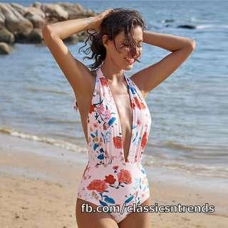Sexy Low-neck Cut Swimwear - FREE SHIPPING!
