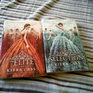 (2 books for php300)The Elite and The Selection: a Selection novel by Kiera Cass