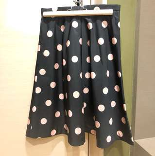 未着過:Red Valentino polka dot dress 甜美波點裙
