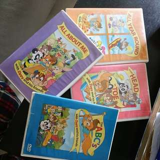 Zippy and friends DVD 4隻