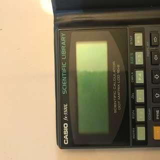 Casio smart calculator
