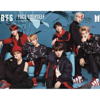 "BTS 3RD JAPANESE ALBUM ""FACE YOURSELF"" Type A"