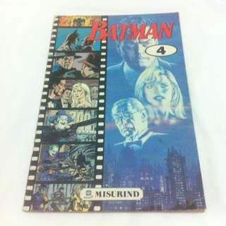 Batman No.4 - Misurind tahun 1990