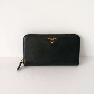 Authentic Prada Zippy Wallet