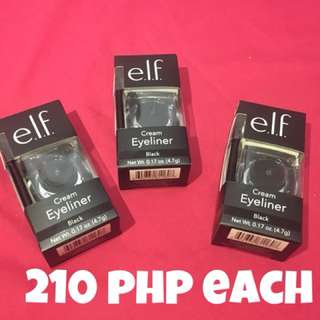 E.L.F Cosmetics, Cream Eyeliner in Black