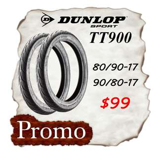 Dunlop TT900 Promotion