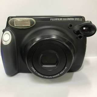 PRE-OWNED WIDE 210 - BLACK W/ BLUE COVER Instax Camera