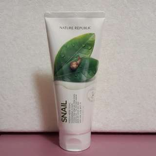 Nature Republic Fresh Herb Snail Cleansing Foam 170ml (authentic from Korea)