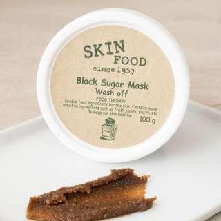 NEW Skinfood Black Sugar Wash Off Mask