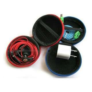Earphone Case: EVA Case Bag Data Cable Coin Purse