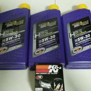 Royal purple hps 5w30 engine oil