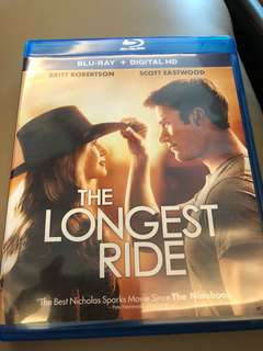 The longest ride (bluray)