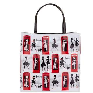Harrods Small Girl About Town Shopper Bag