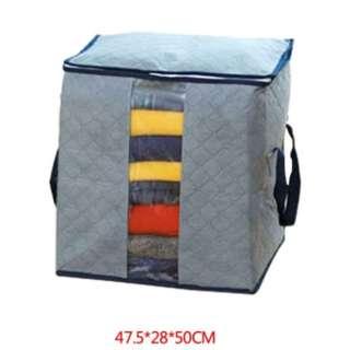 Foldable Storage Bag Clothes Blanket Organizer Box Pouch
