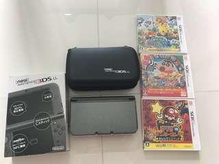 Nintendo 3DS XL Japanese plus games