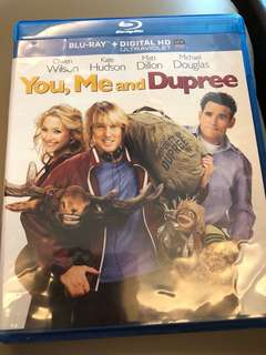 You me and Dupree (bluray)
