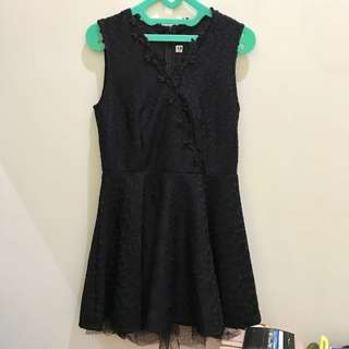 Sale - dress hitam 1