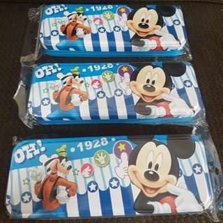 Brand new Mickey mouse tin pencil case