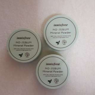 Innisfree No Sebum Mineral Powder 5g (authentic from Korea)