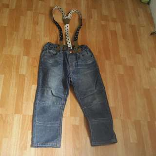 H and M denim pants