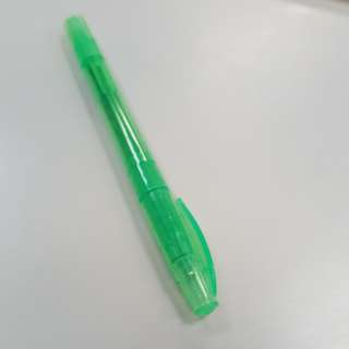 Green highlighter