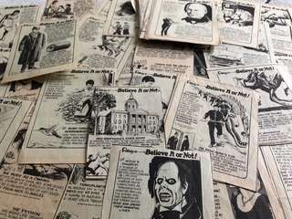 Vintage Ripley's Clippings - great for decoupage!
