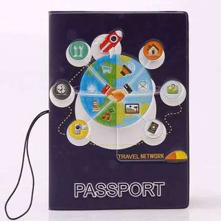 Little Cartoon Passport Holder  Design: as attach photo