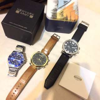 Branded Mens Watch Set