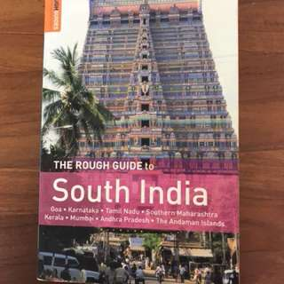 Rough Guide to South India (travel book like lonely planet)