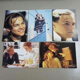 Titanic postcard 另送書籤