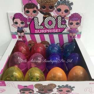BN LOL GLITTER Big Surprise Eggs