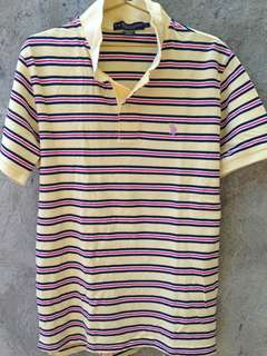 Polo Striped Polo Shrt