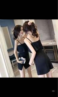 [P.O] Ladies Slit Dress