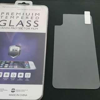 IPhone X 鋼化玻璃保護貼 背貼 背面